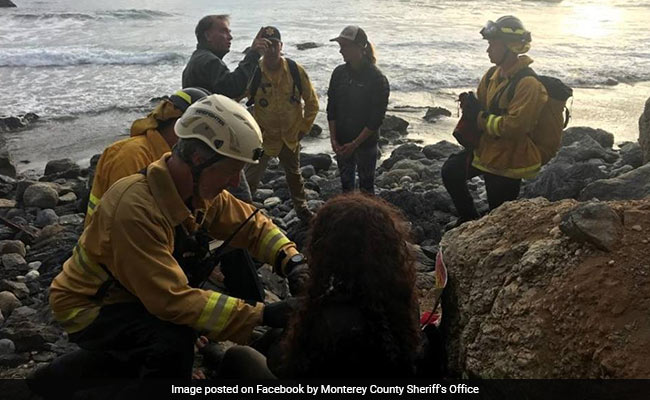 US woman swerves off cliff, survives 7 days trapped