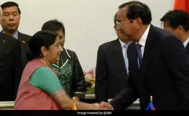 India Signs Two Agreements To Step Up Cooperation With Cambodia