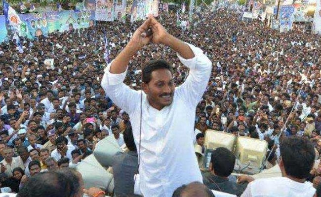 YS Jagan Mohan Reddy Stakes Claim To Form Government In Andhra Pradesh