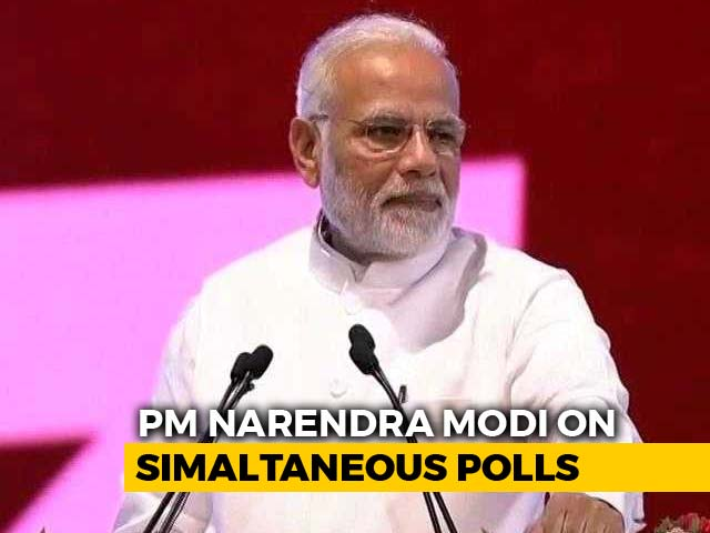 Video : Talks On Simultaneous Election Gaining Momentum, Says PM Modi