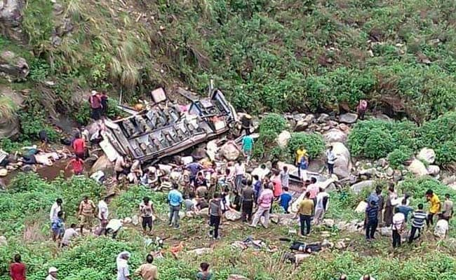 47 Killed After Bus Falls Into Gorge In Uttarakhand's Pauri Garhwal