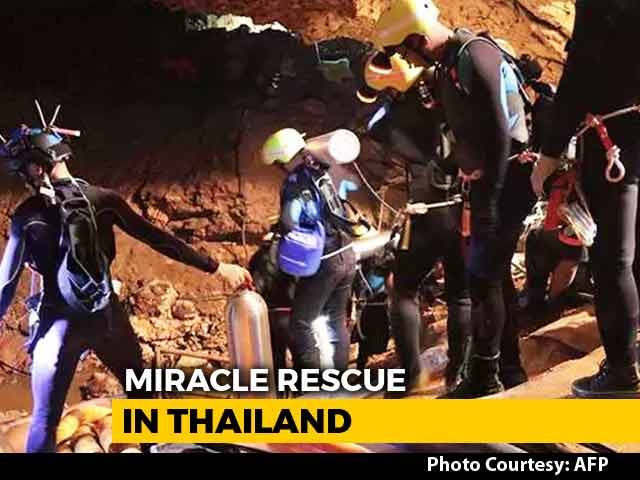 Video : Watch: The Daring Rescue Of Thai Boys Explained