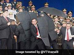 वेनेजुएला के राष्ट्रपति निकोलस मादुरो पर ड्रोन हमला, नेशनल गार्ड ने ऐसे बचाई जान, देखें- VIDEO