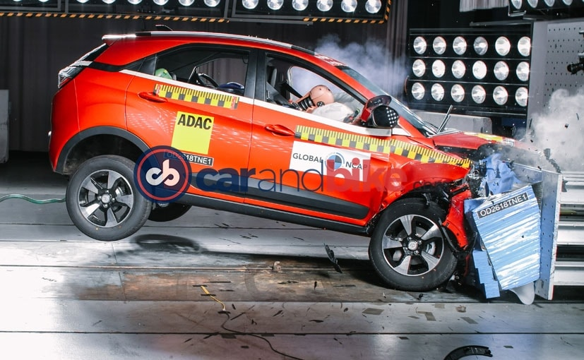 Global NCAP conducted Tata Nexon's crash test at the ADAC test facility in Munich, Germany