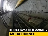 Video : 100 Feet Underwater In Kolkata Metro Tunnel