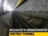 Video: 100 Feet Underwater In Kolkata Metro Tunnel