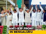 Video: JDS' Kumaraswamy Takes Oath Amid Opposition Show Of Unity