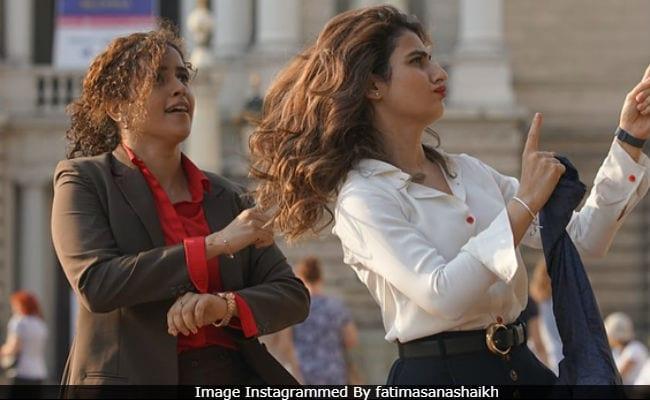 Seen Dangal Stars Fatima Sana Shaikh And Sanya Malhotra's Dance In Europe, Right? Here's The Backstory