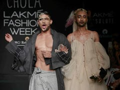 Lakme Fashion Week Day 1: Chola's Exploration Of Drag Makeup And Gender Neutrality