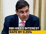 Video : RBI Hikes Repo Or Key Lending Rate To 6.25%, EMIs To Rise