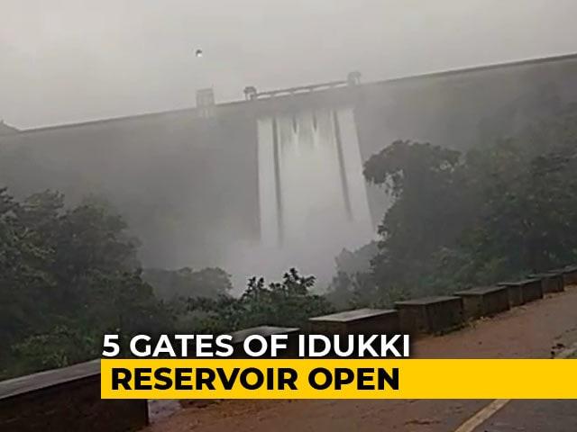 Video : Shutter Open At Idukki's Cheruthoni Dam After Heavy Rainfall In Kerala