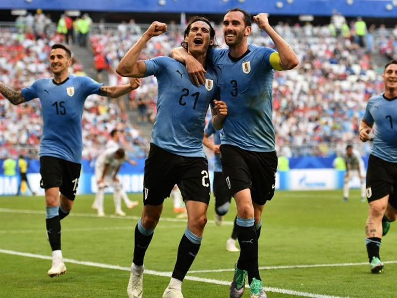 2018 World Cup:  Edinson Cavani, Luis Suarez On Target As Uruguay Defeat 10-man Russia To Win Group