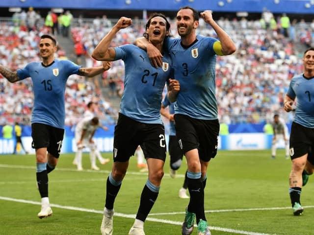 2018 World Cup:  Edinson Cavani, Luis Suarez On Target As Uruguay Defeat 10-man Russia To Win Group