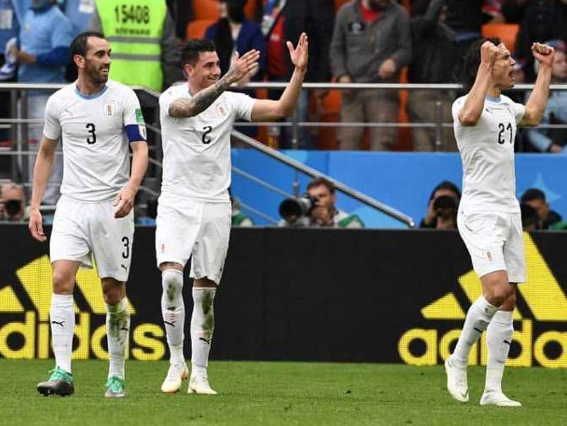 World Cup 2018: Uruguay Strike Late To Beat Egypt As Mohamed Salah Sits Out Match