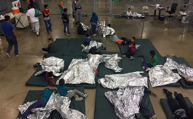 Secret Recording Of Children Sobbing Amid Row Over US Immigration Policy