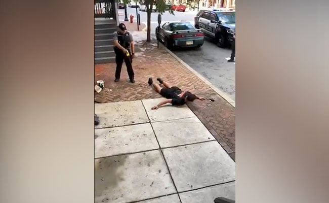 On Video, US Cop Tases Unarmed Black Man For 'Not Following Instructions'
