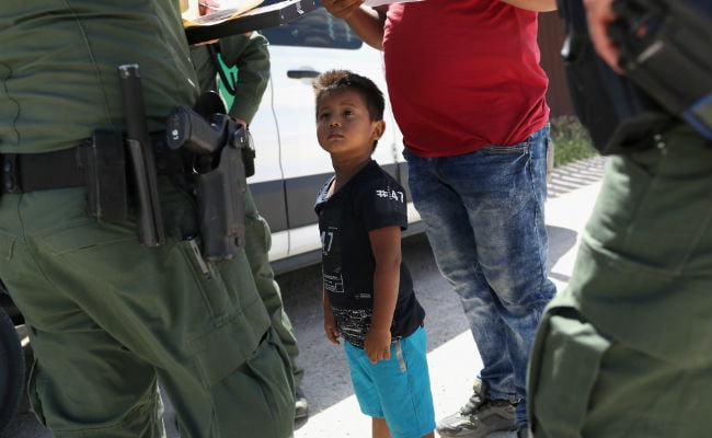'Nobody likes' separating kids from parents at the border, Conway says