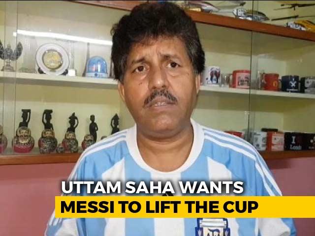 Video : World Cup 2018: Lionel Messi Fan Travels From Kolkata To Kazan