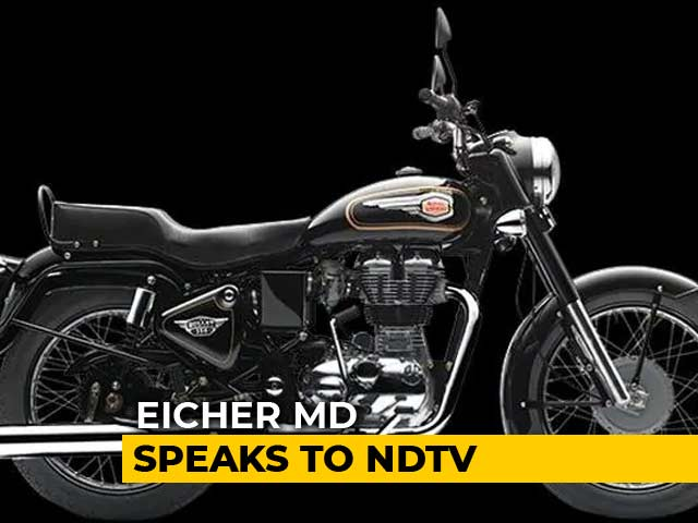 Video : Eicher Motors Reports 25% Jump In April-June Profit, Driven By Royal Enfield Sales