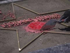 Donald Trump's Hollywood Walk Of Fame Star Vandalised For The Second Time