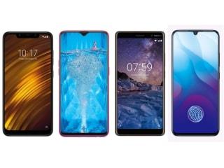 Vivo V11 Pro, Xiaomi Poco F1, Oppo F9 Pro और Nokia 7 Plus में कौन बेहतर ?