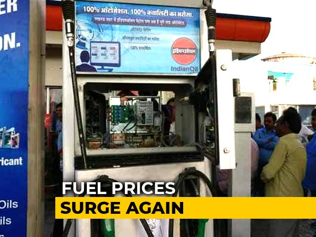 Video : Petrol, Diesel Prices Hiked Today