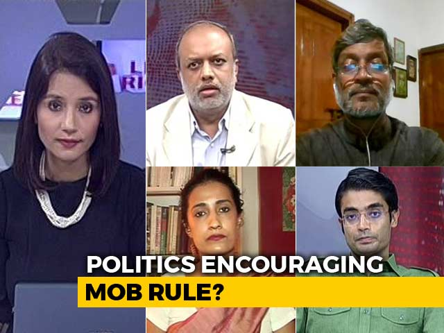 Video : Politics Pushing India Into Mob Rule?