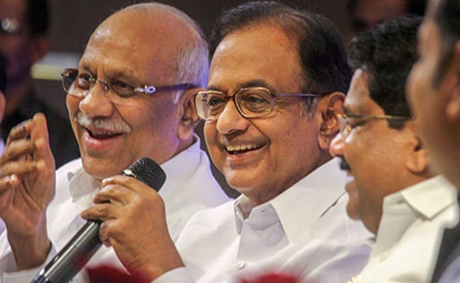 P Chidambaram Appointed As Chairman Of Congress Manifesto Panel: Sources
