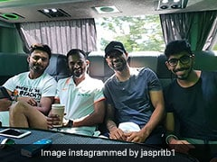 Jasprit Bumrah, Shikhar Dhawan, Rishabh Pant Enjoy Back Seat Ride On Team Bus