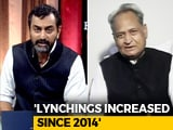 Video : 'Have Not Visited Lynching Victim Families': Ashok Gehlot To NDTV