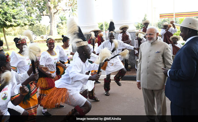 PM Modi Africa Visit Highlights: PM Modi Addresses Uganda Parliament, First Indian PM To Do So