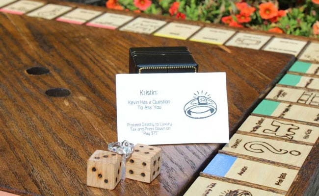 He Spent 45 Days Making A Monopoly Game, Then Used It As Wedding Proposal