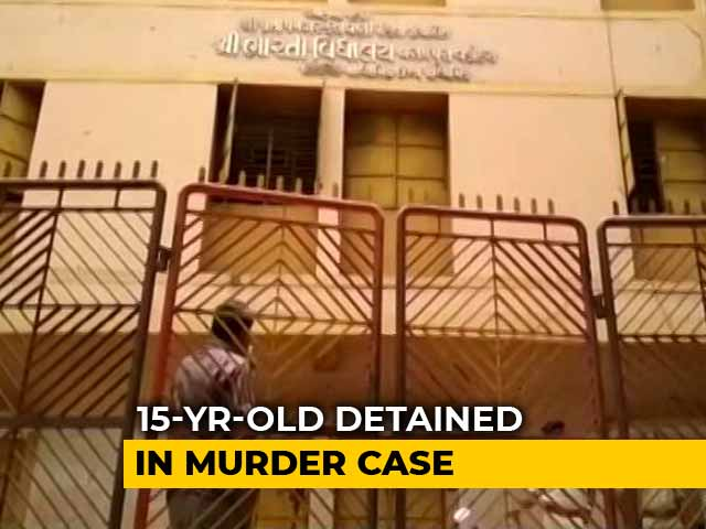 "Video : Class 10 Boy Detained In Vadodara Murder; ""Wanted School Shut,"" Say Cops"