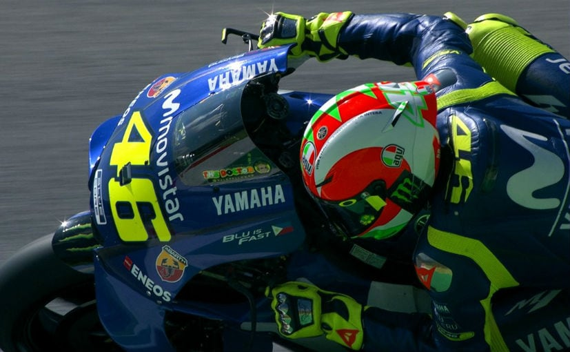 Motogp Valentino Rossi Scores His First Pole Of The Season At