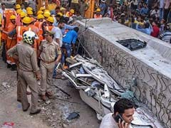 18 Dead As Under Construction Flyover Collapses In Varanasi