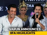 Video : Bobby Deol & Rekha Will Perform Live At IIFA Awards 2018: Varun Dhawan