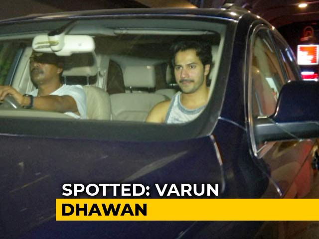 Video : Celeb Spotting: Varun, Shraddha & Others
