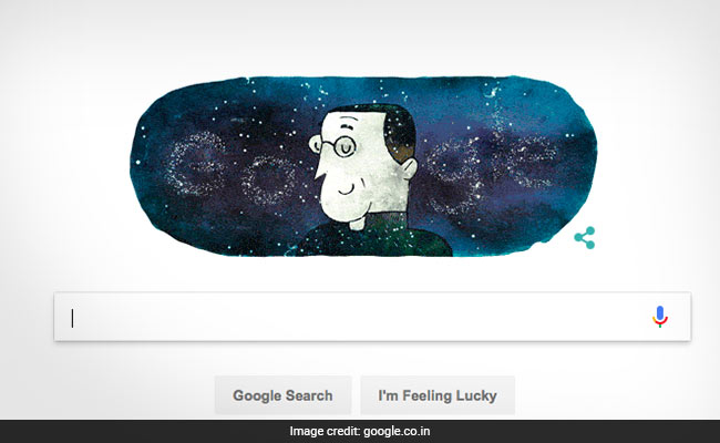 Google Doodle Honours Georges Lemaitre- The Man Behind Big Bang Theory