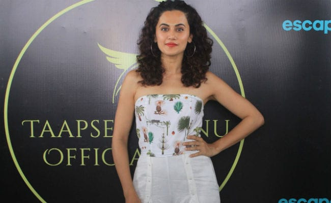 Manmarziyaan Actress Taapsee Pannu Reveals Why She Has 'No Fear Of Failure'