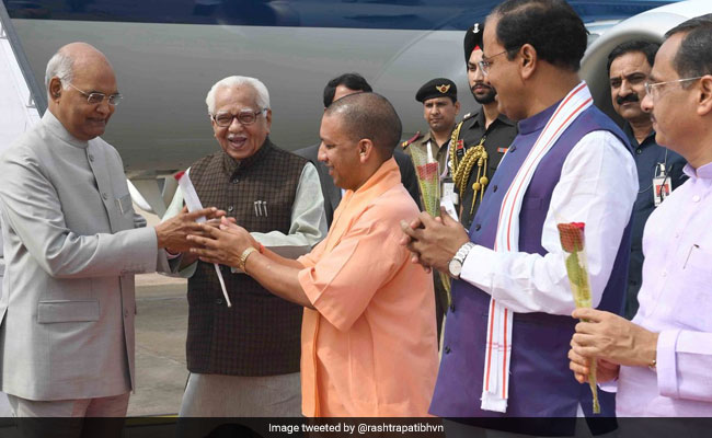 President Kovind Inaugurates 'One District One Product' Summit In UP