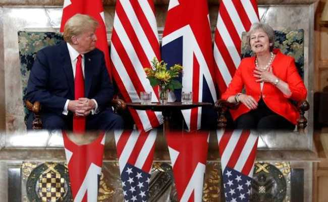 After Blasting UK Over Brexit, Donald Trump Says Relationship Very Strong