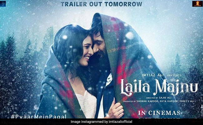 Laila Majnu New Poster: This Is When You Can Watch The Trailer