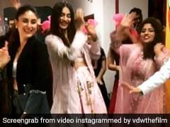 Video: सोनम कपूर के साथ करीना ने किया भांगड़ा, बोले चूड़ियां.. पर भी मटकाई कमर