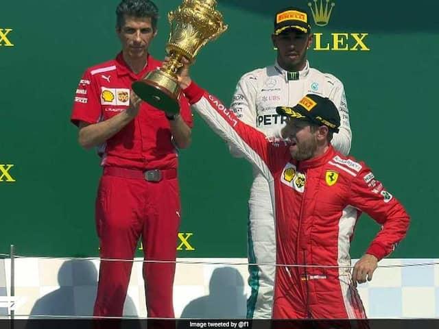 British GP: Sebastian Vettel Wrecks Lewis Hamiltons Home Party With Stunning Ferrari Win