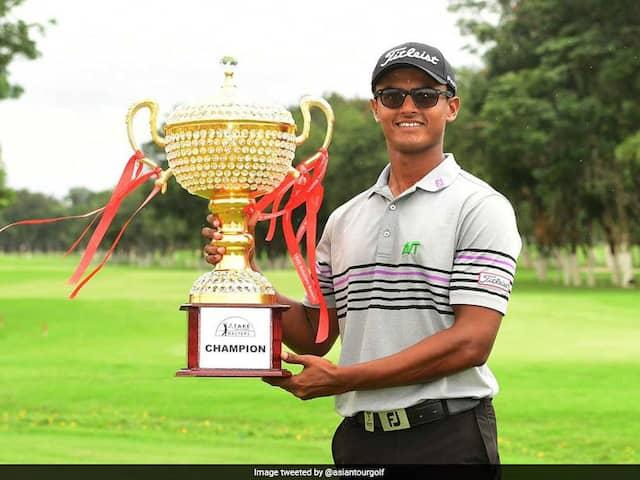 Indias Viraj Madappa Wins First Asian Tour Title At 20