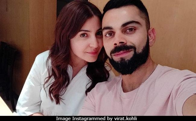 Viral: How Sweet Is Virat Kohli's Caption For Selfie With 'Bestest' Anushka Sharma