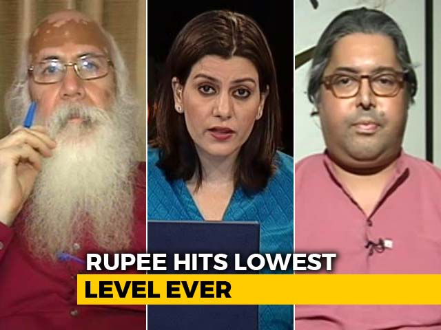 Video : Rupee Hits Historic Low At 70: Why Is The Currency Falling?