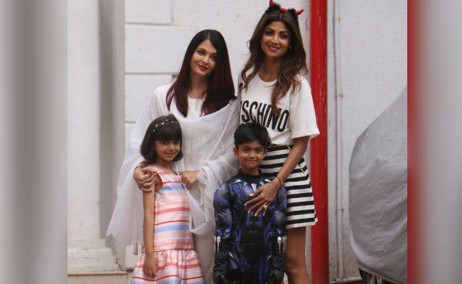 Aishwarya Rai Bachchan, Aaradhya Attend Shilpa Shetty's Son Viaan's Birthday Party. See Pics