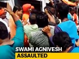 Video : Swami Agnivesh Beaten Up In Jharkhand Allegedly By BJP Workers