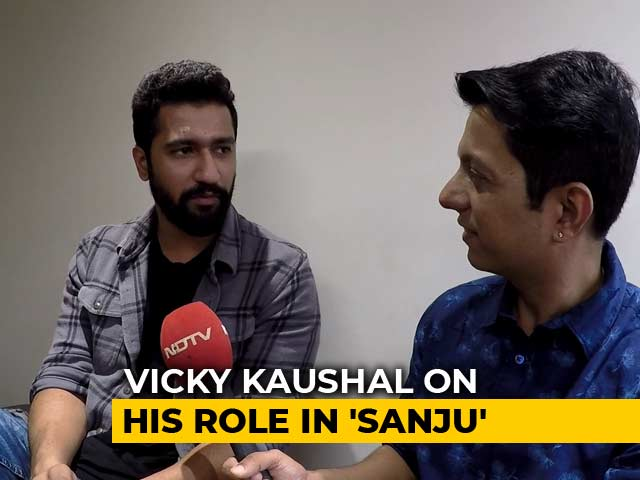 Vicky Kaushal On Playing Sanjay Dutt's Best Friend In Sanju